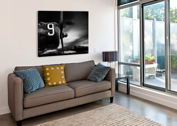 NUMBER 9 CONSOLIDATED B24 BOB ORSILLO  Canvas Print