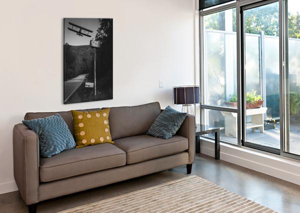 AIR MAIL DELIVERY BOB ORSILLO  Canvas Print
