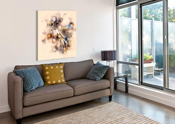 TASTY MUSHROOM ABSTRACT BOB ORSILLO  Canvas Print