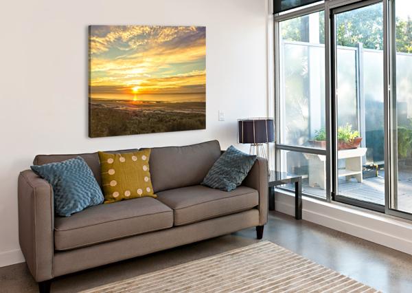 SUNRISE IN THE CAROLINAS 24  Canvas Print