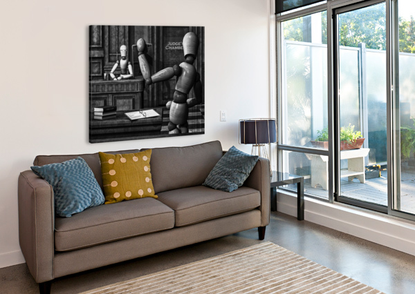 WITNESS FOR THE STATE BOB ORSILLO  Canvas Print