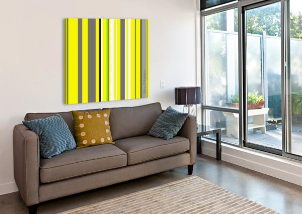 COLOR BARS 3 ALANA ROTHSTEIN  Canvas Print