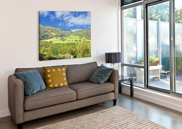 BEAUTIFUL WALES 360 STUDIOS  Canvas Print