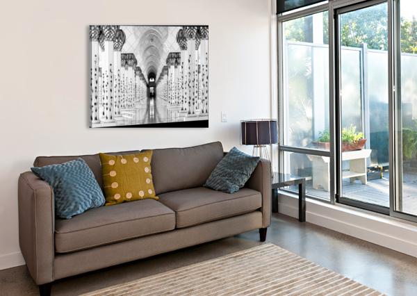 SHEIK ZAYED MOSQUE 1X  Canvas Print