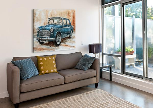 1960 FIAT 1100 103 H JOEY AGBAYANI  Canvas Print