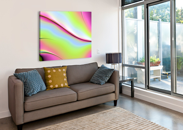 ABSTRACT BACKGROUND. DIVINE KANZA  Canvas Print