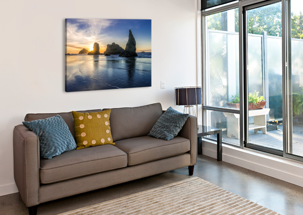 BANDON OREGON 02 SEBASTIAN DIETL  Canvas Print