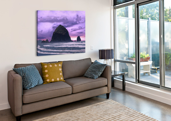 CANNON BEACH AT SUNSET 1NORTH  Canvas Print