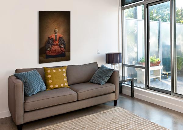 SAMURAI DANIEL THIBAULT ARTISTE-PHOTOGRAPHE  Canvas Print
