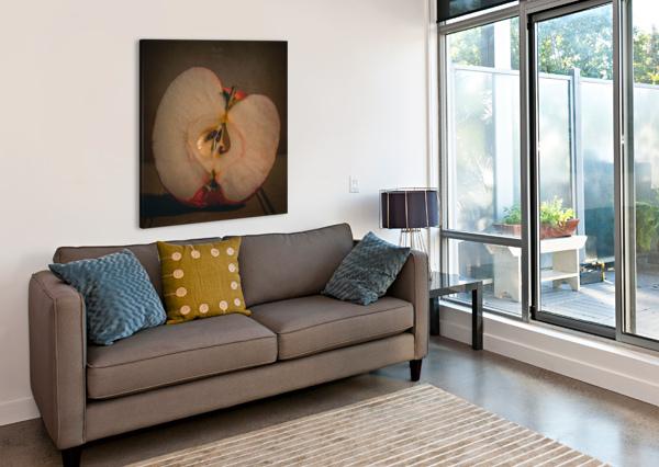 ETUDE ZEN 7D DANIEL THIBAULT ARTISTE-PHOTOGRAPHE  Canvas Print