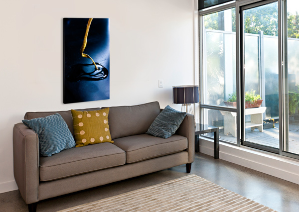 GENTLE BLUE TOUCH JAYDENERICBEAUDOIN  Canvas Print