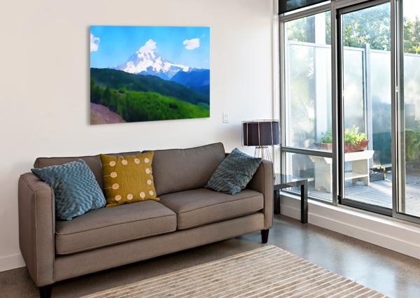 MT. RANIER PIERCE ANDERSON  Canvas Print