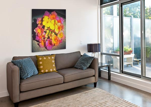 FLOWERS ART PIERCE ANDERSON  Canvas Print