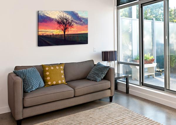 WINTER TREE PIERCE ANDERSON  Canvas Print