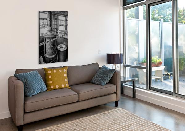 STRASBURG 6 ERIC FRANKS PHOTOGRAPHY  Canvas Print