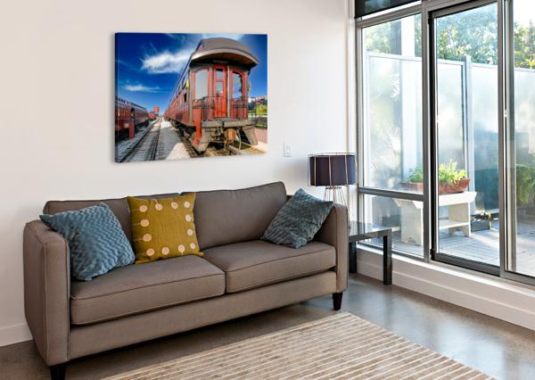 STRASBURG 2 ERIC FRANKS PHOTOGRAPHY  Canvas Print