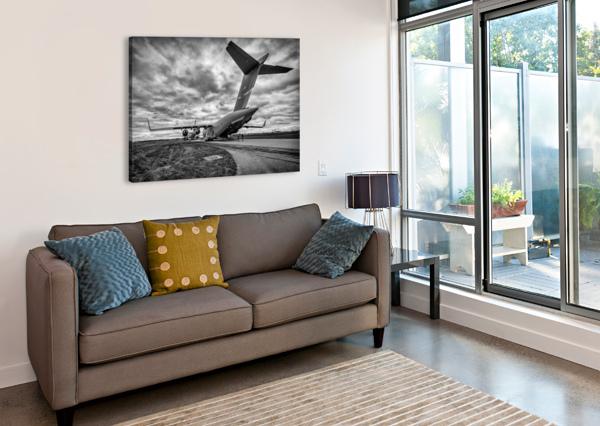 C 17 GLOBEMASTER ERIC FRANKS PHOTOGRAPHY  Canvas Print