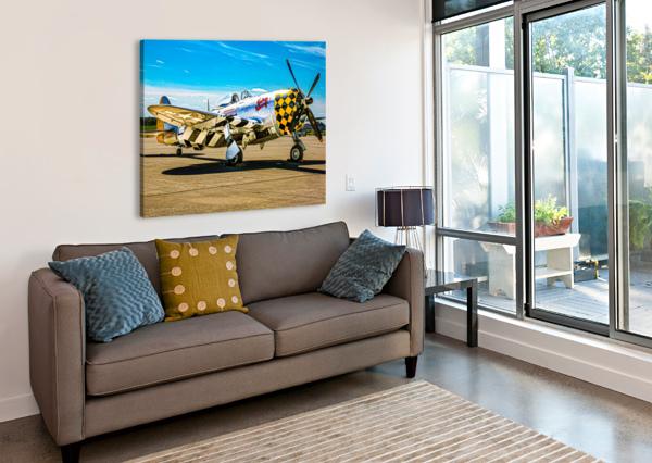 P 47D THUNDERBOLT ERIC FRANKS PHOTOGRAPHY  Canvas Print