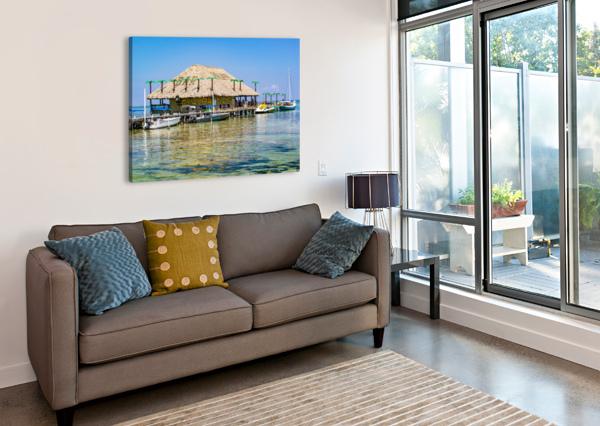 AMBERGRIS CAYE 3 ERIC FRANKS PHOTOGRAPHY  Canvas Print
