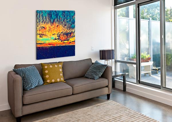 SKY WIRES PIERCE ANDERSON  Canvas Print