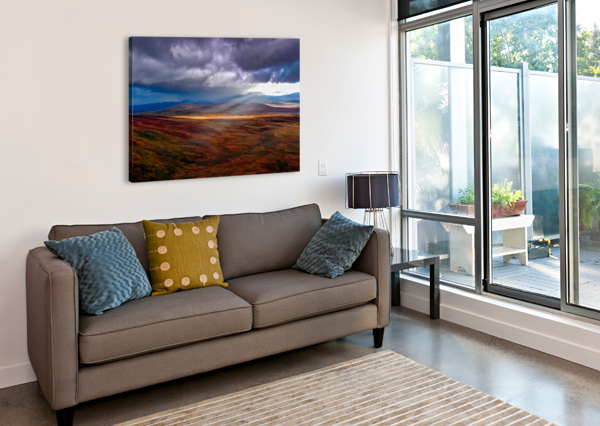 DONEGAL 27 ERIC FRANKS PHOTOGRAPHY  Canvas Print