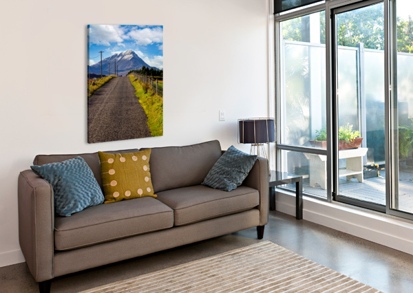 ERRIGAL 1 ERIC FRANKS PHOTOGRAPHY  Canvas Print