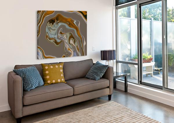 REFLECTION IN CHROME SARAH BUTCHER  Canvas Print