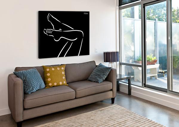 LEGS 2 ALEXANDER CHUBAR  Canvas Print