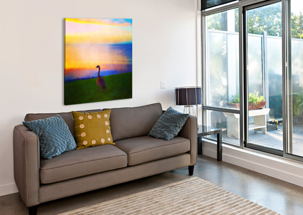 LOOKING OUT PIERCE ANDERSON  Canvas Print