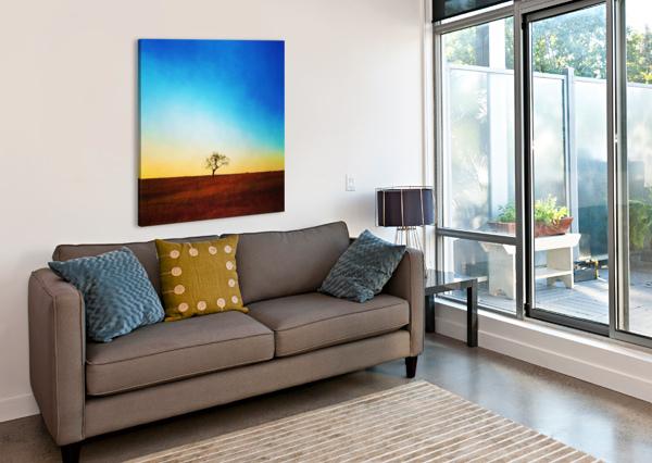 SOLITUDE TREE PIERCE ANDERSON  Canvas Print