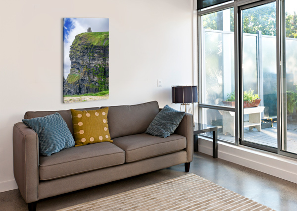 CLIFFS OF MOHER 2 ERIC FRANKS PHOTOGRAPHY  Canvas Print