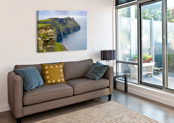 CLIFFS OF MOHER 4 ERIC FRANKS PHOTOGRAPHY  Canvas Print