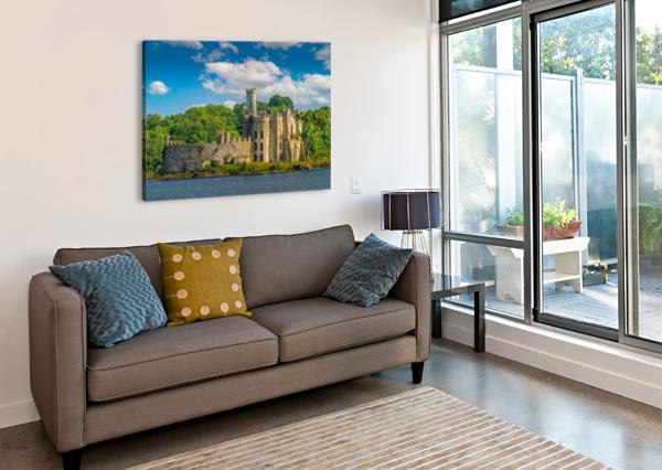 MCDERMOTT S CASTLE RUINS ERIC FRANKS PHOTOGRAPHY  Canvas Print