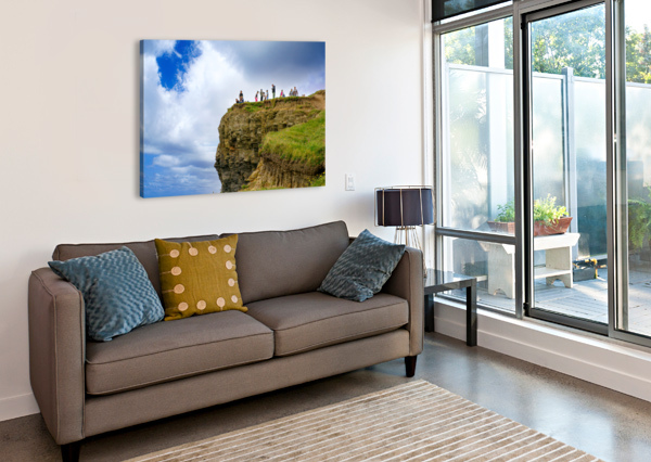 CLIFFS OF MOHER 3 ERIC FRANKS PHOTOGRAPHY  Canvas Print