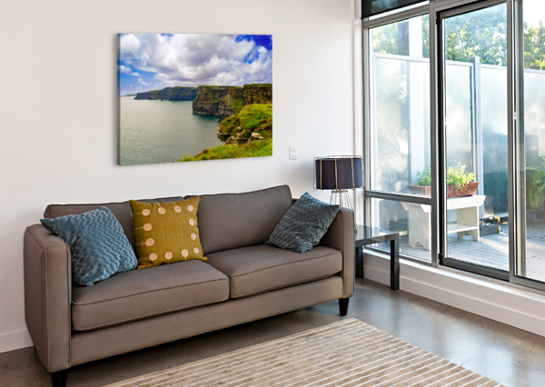 CLIFFS OF MOHER 5 ERIC FRANKS PHOTOGRAPHY  Canvas Print