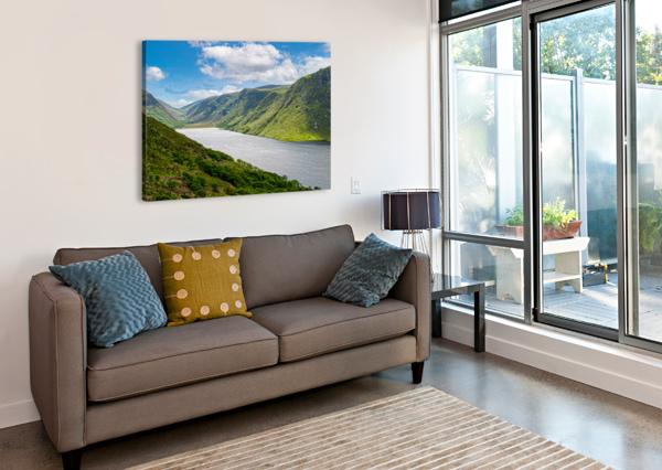 LOUGH VEAGH ERIC FRANKS PHOTOGRAPHY  Canvas Print