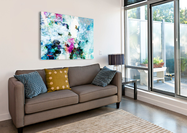 PROMISE OF SPRING - HORIZONTAL  CONNIE SCHOFIELD ART  Canvas Print