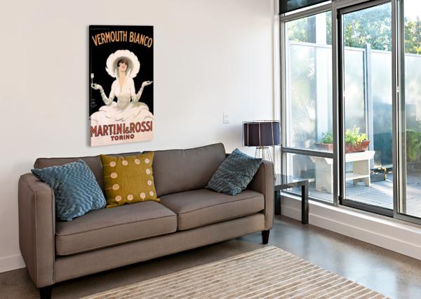 LEONETTO CAPPIELLO COGNAC MONNET VINTAGE AD ART PRINT POSTER VINTAGE POSTER  Canvas Print