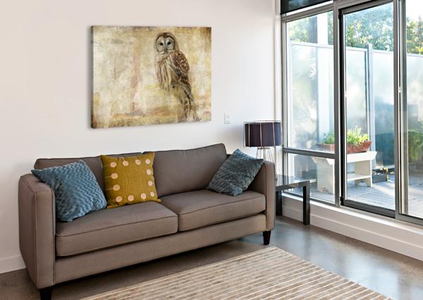STRIX VARIA MICHEL SOUCY  Canvas Print