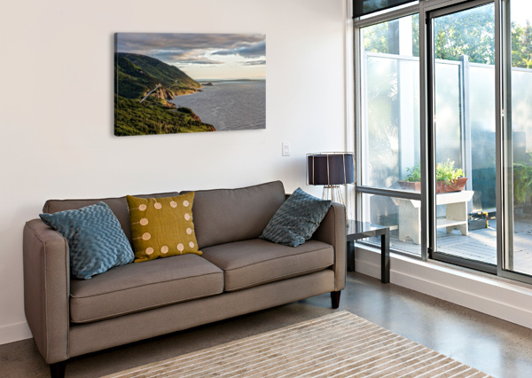 SUMMER ON THE CABOT TRAIL MICHEL SOUCY  Canvas Print