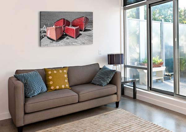 RED DORRIES MICHEL SOUCY  Canvas Print
