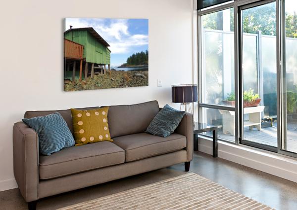 GHOST ISLAND  J  JASMYN PHILLIPS  Canvas Print