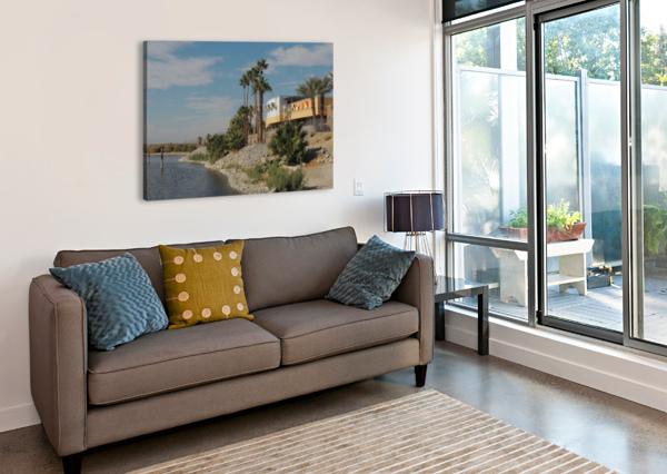 NORTH SHORE BEACH & YACHT CLUB J  JASMYN PHILLIPS  Canvas Print