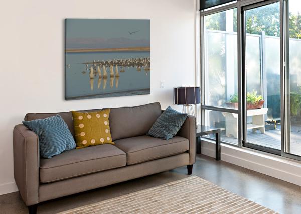 THE SALTON SEA J  JASMYN PHILLIPS  Canvas Print