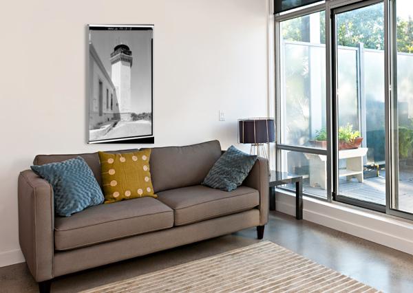 FARO DE LOS MORILLOS DE ARECIBO, PUERTO RICO STOCK PHOTOGRAPHY  Canvas Print