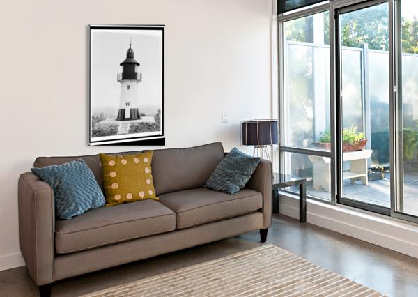 HAMS-BLUFF-LIGHTHOUSE-US-VIRGIN-ISLANDS STOCK PHOTOGRAPHY  Canvas Print