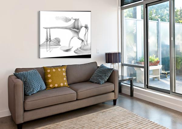 DREAM 01 ALEXANDRU GHEORGHE  Canvas Print