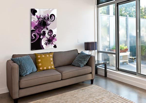 VISION OF EMOTIONAL INFORMATION CARMEN FINE ART  Canvas Print