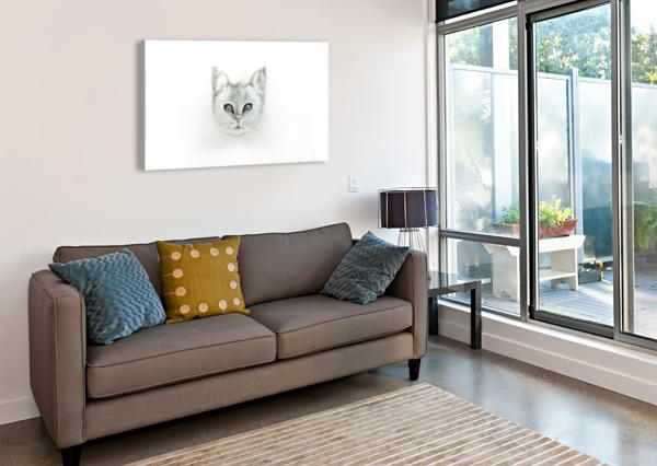CAT ARIA  Canvas Print