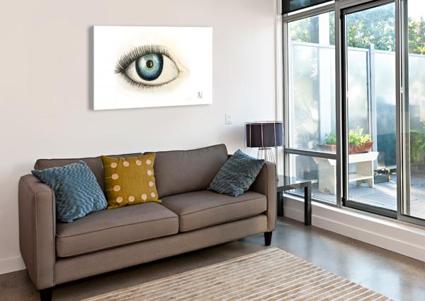 EYE ARIA  Canvas Print